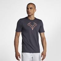 <ナイキ(NIKE)公式ストア>ナイキコート Dri-FIT ラファ メンズ テニス Tシャツ 923995-081 グレー画像