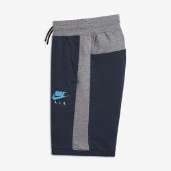 Шорты для тренинга для мальчиков школьного возраста Nike AirШорты для тренинга для мальчиков школьного возраста Nike Air из мягкого флиса обеспечивают комфорт во время тренировок и на каждый день.<br>