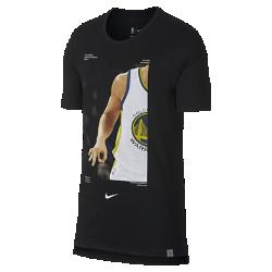 Мужская футболка НБА Klay Thompson Nike Dry (NBA Player Pack)Мужская футболка НБА Nike Dry (NBA Player Pack) передает яркие моменты игр НБА. Преимущества  Ткань Nike Dry отводит влагу и обеспечивает комфорт Удлиненная сзади нижняя кромка  Информация о товаре  Состав: 75% полиэстер/13% хлопок/12% вискозное волокно Машинная стирка Импорт<br>