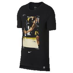 Мужская футболка НБА Kawhi Leonard Nike Dry (NBA Player Pack)Мужская футболка НБА Nike Dry (NBA Player Pack) передает яркие моменты игр НБА. Преимущества  Ткань Nike Dry отводит влагу и обеспечивает комфорт Удлиненная сзади нижняя кромка  Информация о товаре  Состав: 75% полиэстер/13% хлопок/12% вискозное волокно Машинная стирка Импорт<br>