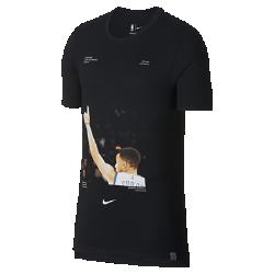 Мужская баскетбольная футболка Stephen Curry Nike Dry (NBA Player Pack)Мужская баскетбольная футболка Nike Dry (NBA Player Pack) передает яркие моменты игр НБА. Преимущества  Ткань Nike Dry отводит влагу и обеспечивает комфорт Удлиненная сзади нижняя кромка  Информация о товаре  Состав: 75% полиэстер/13% хлопок/12% вискозное волокно Машинная стирка Импорт<br>