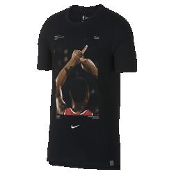 Мужская баскетбольная футболка Damian Lillard Nike Dry (NBA Player Pack)Мужская баскетбольная футболка Nike Dry (NBA Player Pack) передает яркий момент игры НБА. Преимущества  Ткань Nike Dry отводит влагу и обеспечивает комфорт Удлиненная сзади нижняя кромка  Информация о товаре  Состав: 75% полиэстер/13% хлопок/12% вискозное волокно Машинная стирка Импорт<br>