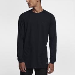 Мужская футболка с длинным рукавом Nike Sportswear AF1Мужская футболка с длинным рукавом Nike Sportswear AF1 из мягкого смесового хлопка с вафельной текстурой и изогнутой нижней кромкой обеспечивает комфорт на весь день.<br>