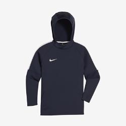 Футбольная худи для мальчиков школьного возраста Nike Dri-FIT AcademyФутбольная худи для мальчиков школьного возраста Nike Dri-FIT Academy из легкой влагоотводящей ткани обеспечивает тепло и комфорт в любой ситуации.<br>