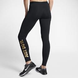 Женские тайтсы для тренинга с графикой JDI Nike ProЖенские тайтсы для тренинга с графикой JDI Nike Pro из эластичной влагоотводящей ткани обеспечивают комфорт во время тренировки.<br>