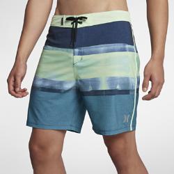 Мужские бордшорты Hurley Phantom Roll Out 45,5 смМужские бордшорты Hurley Phantom Roll Out 45,5 см из эластичной ткани на основе переработанных материалов с уникальным принтом созданы для активного отдыха на пляже. Укороченный крой обеспечивает полную свободу движений.<br>
