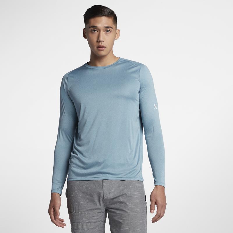 <ナイキ(NIKE)公式ストア>ハーレー アイコン クイック ドライ メンズ ロングスリーブ サーフシャツ 928186-424 ブルー 30日間返品無料 / Nike+メンバー送料無料