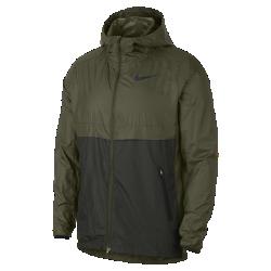 <ナイキ(NIKE)公式ストア>ナイキ シールド メンズ ランニングジャケット 928490-395 グリーン 30日間返品無料 / Nike+メンバー送料無料