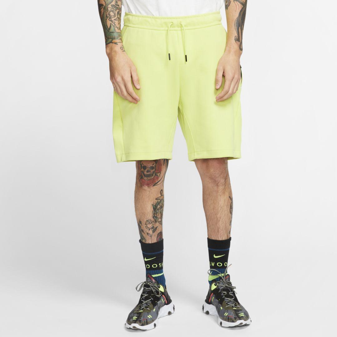 Nike Sportswear Tech Fleece Men's Shorts (Limelight ...