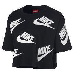 Женская футболка с коротким рукавом Nike SportswearЖенская футболка с коротким рукавом Nike Sportswear из мягкого хлопка обеспечивает комфорт на весь день.<br>
