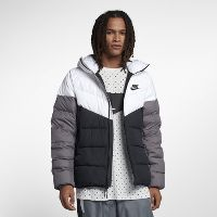 Deals on Nike Sportswear Windrunner Down Fill Hooded Puffer Jacket