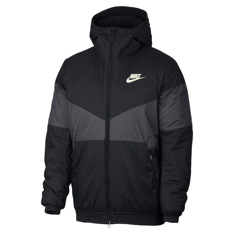 Nike Sportswear Synthetic Fill Men s Hooded Jacket - Black  21e01b4ddaa