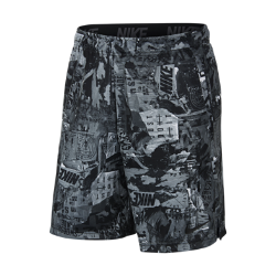 <ナイキ(NIKE)公式ストア>ナイキ Dri-FIT メンズ プリンテッド トレーニングショートパンツ 930430-010 ブラック 30日間返品無料 / Nike+メンバー送料無料