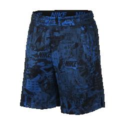 <ナイキ(NIKE)公式ストア>ナイキ Dri-FIT メンズ プリンテッド トレーニングショートパンツ 930430-403 ブルー 30日間返品無料 / Nike+メンバー送料無料