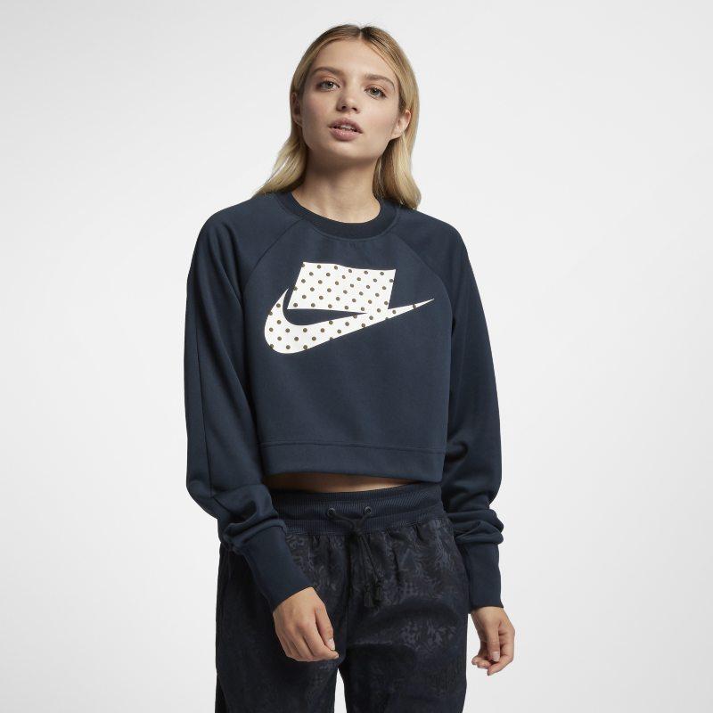 Nike Sportswear Kısa Kadın Crew Üst  931826-475 -  Mavi XL Beden Ürün Resmi