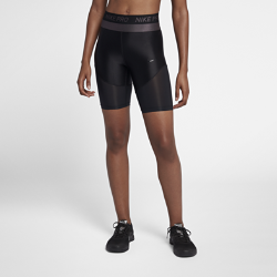 40%OFF!<ナイキ(NIKE)公式ストア>ナイキ プロ ハイパークール ウィメンズ トレーニングショートパンツ 932285-010 ブラック 30日間返品無料 / Nike+メンバー送料無料画像