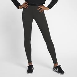 Женские леггинсы с логотипом Nike Sportswear Leg-A-SeeЖенские леггинсы Nike Sportswear Leg-A-See из мягкой эластичной ткани обеспечивают комфорт, защиту и естественную свободу движений.<br>