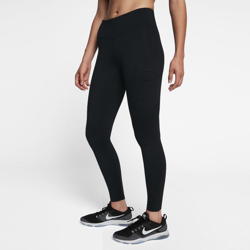 Nike Power Hyper Mallas de entrenamiento de talle medio - Mujer - Negro