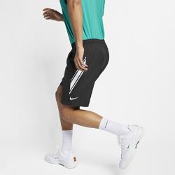 <ナイキ(NIKE)公式ストア>ナイキコート Dri-FIT メンズ 23cm テニスショートパンツ 939266-011 ブラック ★30日間返品無料 / Nike+メンバー送料無料!画像