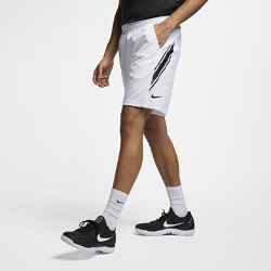 <ナイキ(NIKE)公式ストア>ナイキコート Dri-FIT メンズ 23cm テニスショートパンツ 939266-101 ホワイト ★30日間返品無料 / Nike+メンバー送料無料!画像