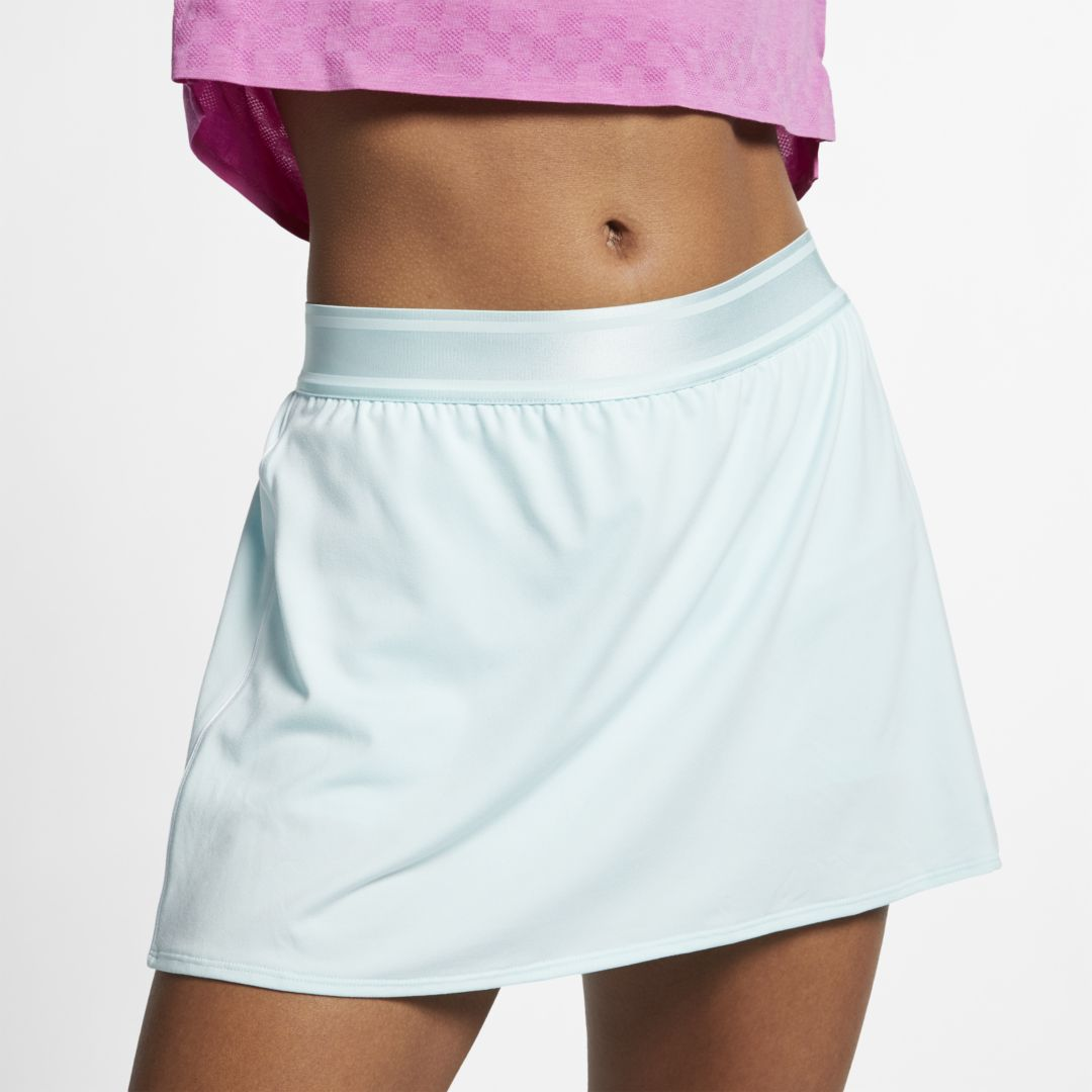 Nikenikecourt Dri Fit Women S Tennis Skirt Teal Tint Clearance Sale Dailymail Inner shorts provide extra coverage while you move. shop dailymail