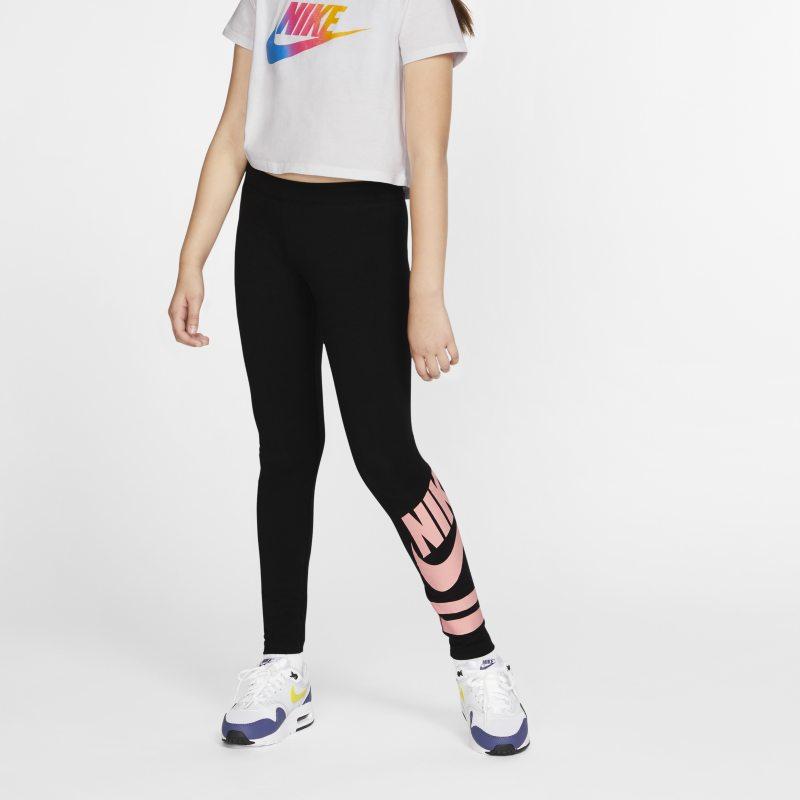 Nike Sportswear Leggings con estampado - Niña - Negro