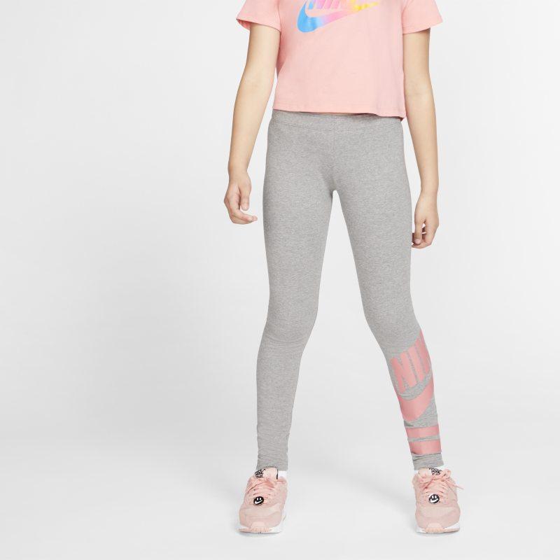 Nike Sportswear Leggings con estampado - Niña - Gris