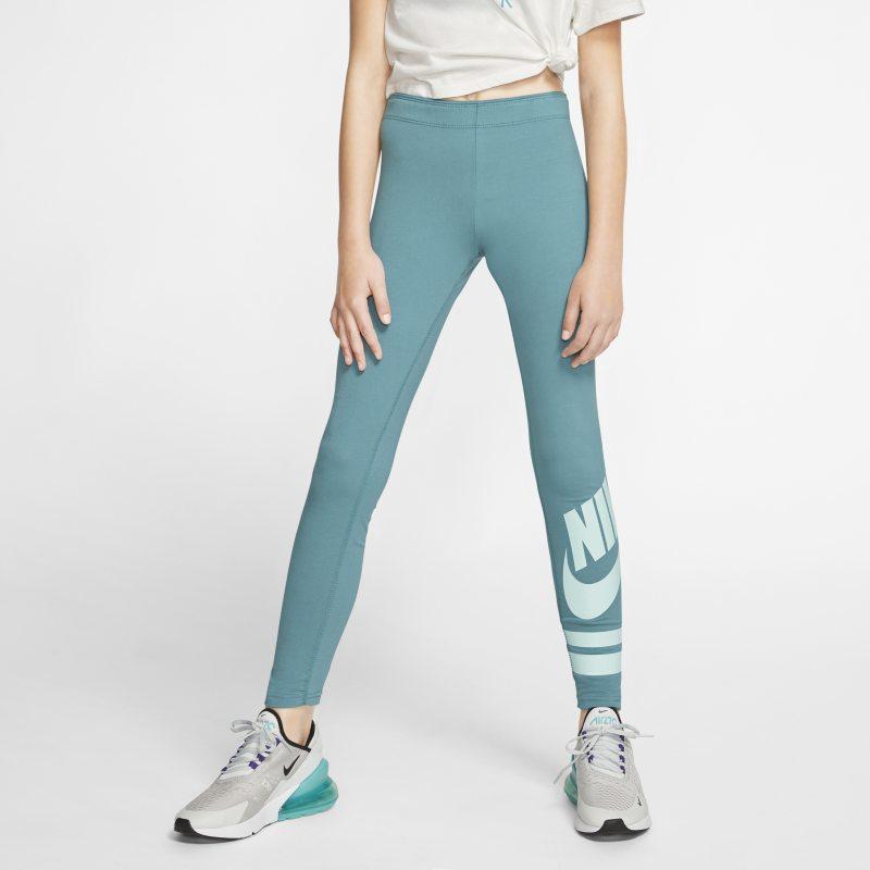 Leggings con grafica Nike Sportswear - Ragazza - Verde