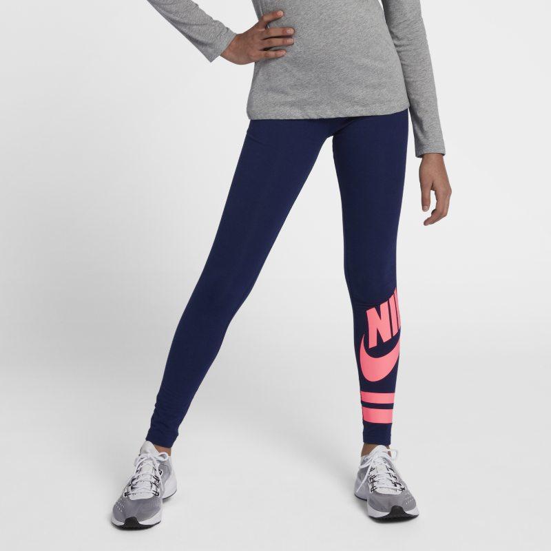 Nike Sportswear Leggings con estampado - Niña - Azul