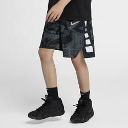<ナイキ(NIKE)公式ストア>ナイキ Dri-FIT ジュニア (ボーイズ) プリンテッド バスケットボールショートパンツ 939541-012 グレー