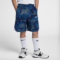<ナイキ(NIKE)公式ストア>ナイキ Dri-FIT ジュニア (ボーイズ) プリンテッド バスケットボールショートパンツ 939541-478 ブルー