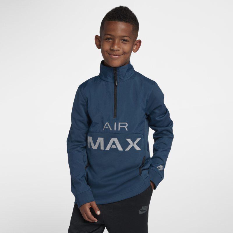 Nike Air Max Older Kids (Boys) Track Jacket - Blue
