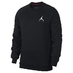 <ナイキ(NIKE)公式ストア>ジョーダン ジャンプマン エア メンズ フリース クルー 940170-010 ブラック 30日間返品無料 / Nike+メンバー送料無料画像