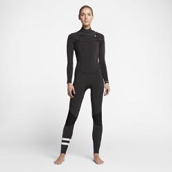 Женский гидрокостюм Hurley Advantage Plus Fullsuit 4/3 ммЖенский гидрокостюм Hurley Advantage Plus Fullsuit 4/3 мм обеспечивает тепло, позволяя полностью сосредоточиться на занятиях серфингом в холодную погоду. К обновленным элементамотносятся более обтекаемый силуэт и вставки в области коленей для легкости и защиты от влаги.  Удобно надевать, легко снимать  Непромокаемая молния анатомической формы на груди открыта с обеих сторон для свободы движений и предотвращения разрыва. Инновационная застежка с фиксатором позволяет быстро и удобно застегнуть кромку одной рукой.  Создано для движения  Швы расположены далеко от области подмышек, лопаток и внутренней части ног для гибкости. Легкая и невероятно эластичная неопреновая ткань Exoflex обеспечивает свободу движений на протяжении всей тренировки.  Легкость и тепло  Теплый ворсистый внутренний слой быстро высыхает, сохраняя легкость и защищая от холодного ветра. Флисовый внутренний слой из полого волокна на груди отводит влагу и удерживает тепло.<br>