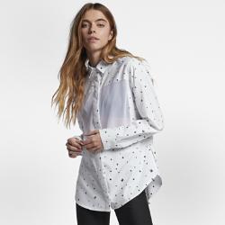 Hurley Wilson Mesh Dot Women's Long-Sleeve Shirt