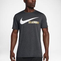 Мужская футболка для тренинга с коротким рукавом Nike BreatheМужская футболка для тренинга с коротким рукавом Nike Breathe обеспечивает охлаждение и комфорт во время тренировки благодаря воздухопроницаемой ткани.<br>