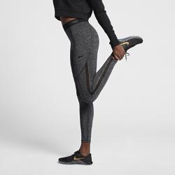Женские тайтсы для тренинга Nike Pro HyperCoolЖенские тайтсы для тренинга Nike Pro HyperCool из эластичной ткани со вставками из сетки в виде полос обеспечивают вентиляцию, комфорт и свободу движений во время тренировки.<br>