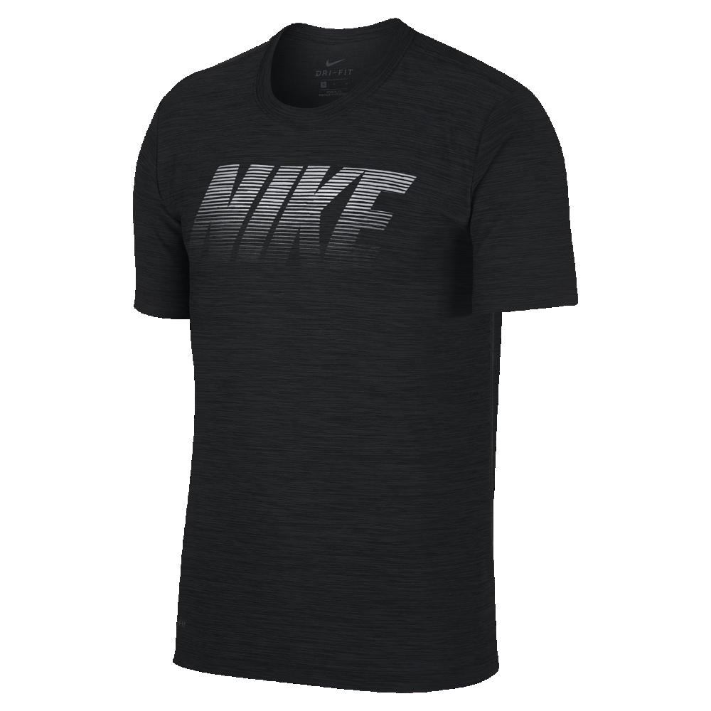 セール!<ナイキ(NIKE)公式ストア> ナイキ ブリーズ メンズ ショートスリーブ トレーニングトップ 942117-010 ブラック ★30日間返品無料 / Nike+メンバー送料無料