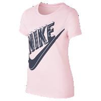 <ナイキ(NIKE)公式ストア>ナイキ スポーツウェア ジュニア (ガールズ) グローインザダーク Tシャツ 942151-632 ピンク