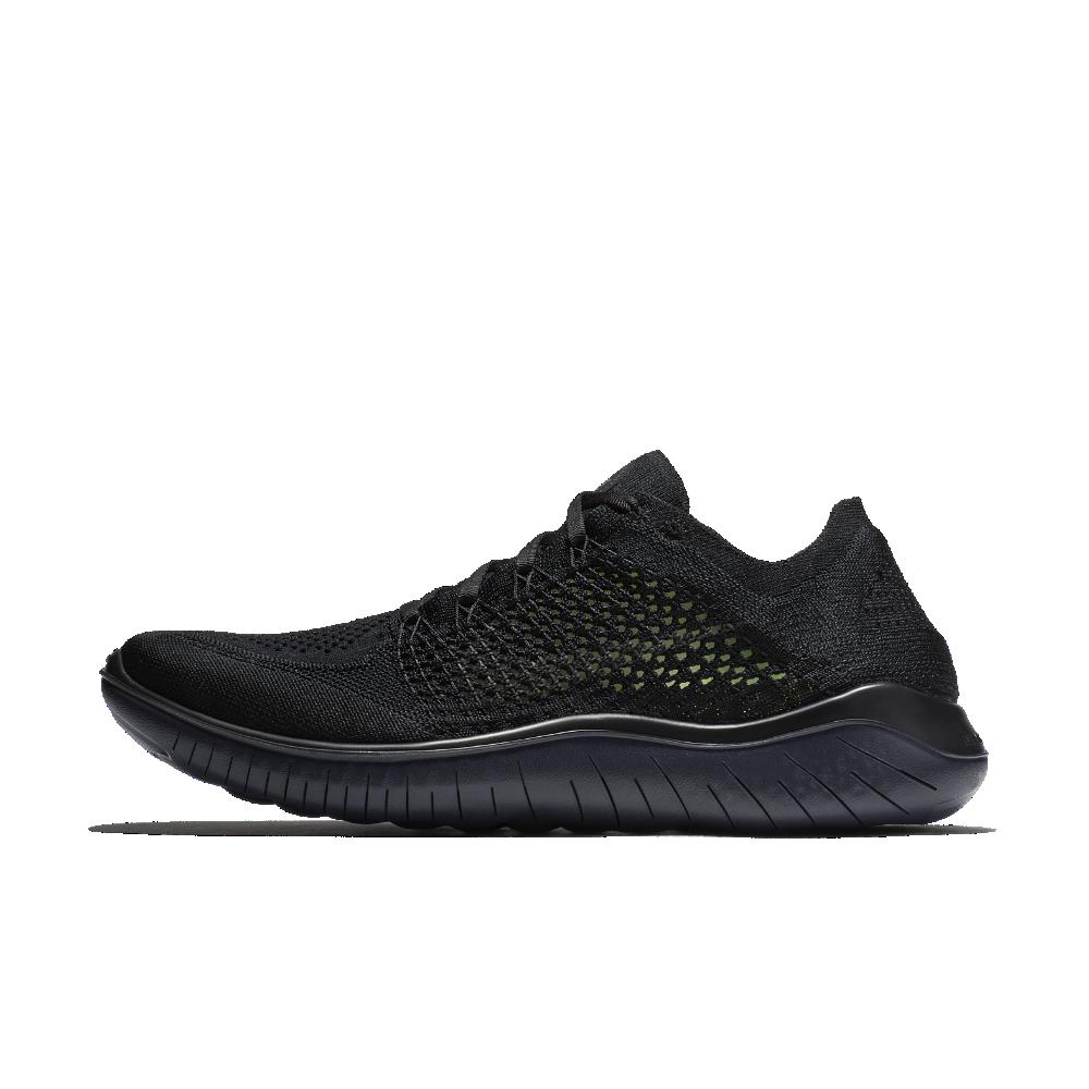 4b7bdc7916dc0 Nike Free RN Flyknit 2018 Men s Running Shoe Size 15 (Black)