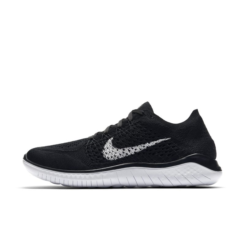 Nike Free RN Flyknit 2018 Zapatillas de running - Mujer - Negro