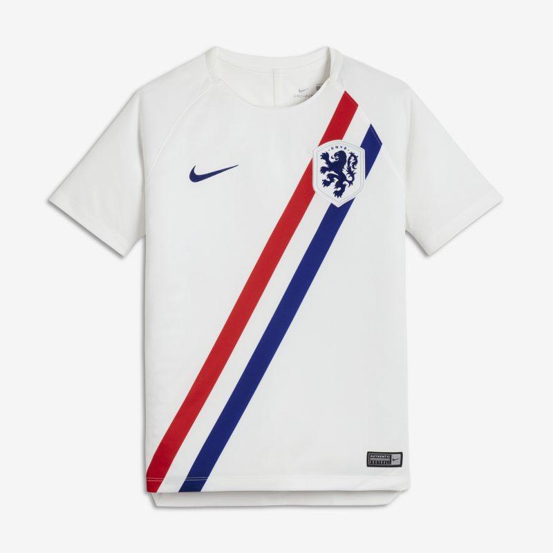 Netherlands Dri 942948-101 - FIT Squad Genç Çocuk Futbol Üstü XL Beden Ürün Resmi