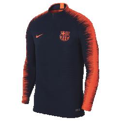 Мужской футбольный топ FC Barcelona VaporKnit Strike DrillМужской футбольный топ FC Barcelona VaporKnit Strike Drill из дышащей эластичной ткани обеспечивает охлаждение, позволяя не снижать скорость во время игры.<br>