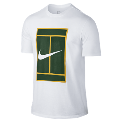 Мужская футболка NikeCourt Heritage LogoМужская футболка NikeCourt Heritage Logo посвящена теннисным моделям и повседневным моделям Nike в теннисном стиле. Футболка, дизайн которой вдохновлен экипировкой крупнейшихзвезд тенниса 90-х, выполнена из мягкого хлопка для комфорта на весь день и украшена цветным вышитым логотипом NikeCourt. Идеальный образ для корта и на каждый день.<br>