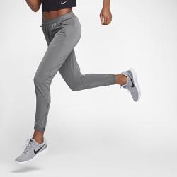 Женские беговые брюки Nike StadiumЖенские беговые брюки Nike Stadium из влагоотводящей ткани в современном стиле обеспечивают комфорт во время пробежки и после нее.<br>