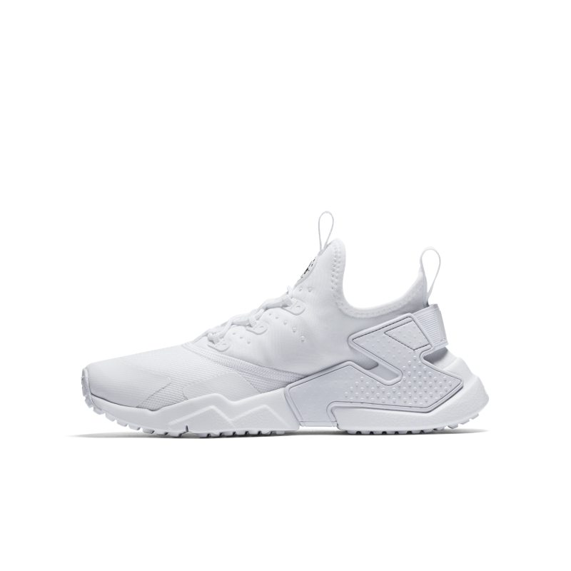 ddd09cc73465 Nike Huarache Run Drift Older Kids  Shoe - White Image