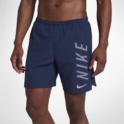 Мужские беговые шорты с подкладкой Nike Challenger 18,5 смМужские беговые шорты с подкладкой Nike Challenger 18,5 см из эластичной влагоотводящей ткани обеспечивают комфорт и свободу движений во время бега. Легкая подкладка обеспечивает поддержку на протяжении всей пробежки.<br>