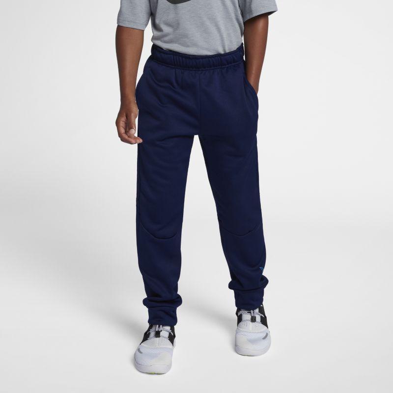 Nike Dri-FIT Therma Older Kids'(Boys') Training Trousers - Blue Image