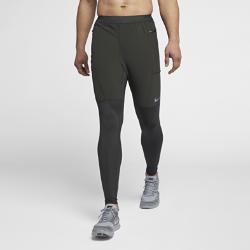 Мужские беговые брюки Nike UtilityМужские беговые брюки Nike Utility из влагоотводящей ткани с зауженным кроем обеспечивают комфорт, помогая сосредоточиться на пробежке.<br>