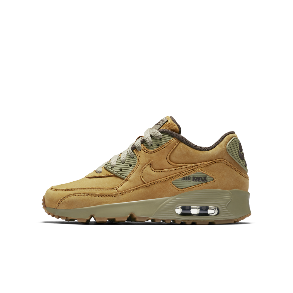 new concept 04e16 30c60 Nike Air Max 90 Winter Premium Big Kids  Shoe Size 4.5Y (Brown) - Clearance  Sale